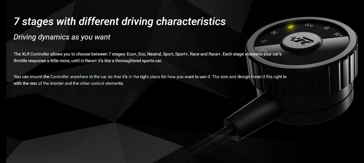 Adjustable Throttle Response | VW Golf V (2003 - 2009) 2 0 GTI (200 HP/ 147  kW) - RaceChip |XLR| 7 SETTINGS