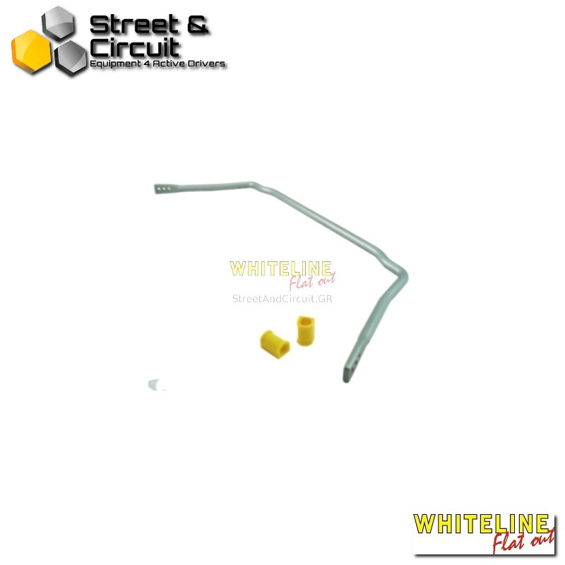 BMW 2000- 2002 66-77 - Whiteline Swaybar 24mm-h/duty Blade adjustable, *Front - Ζαμφόρ/Anti-Roll Bar