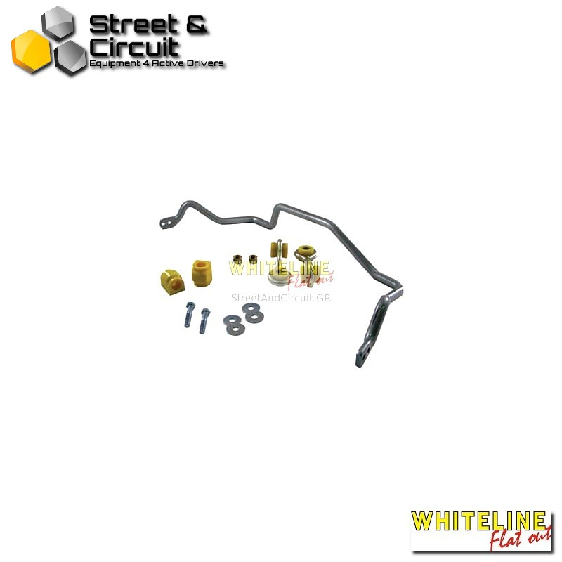 BMW 3 Series E46 318-318-323-325-328-330 99-05 excl M3 - Whiteline Swaybar 20mm-h/duty Blade adjustable, *Rear - Ζαμφόρ/Anti-Roll Bar