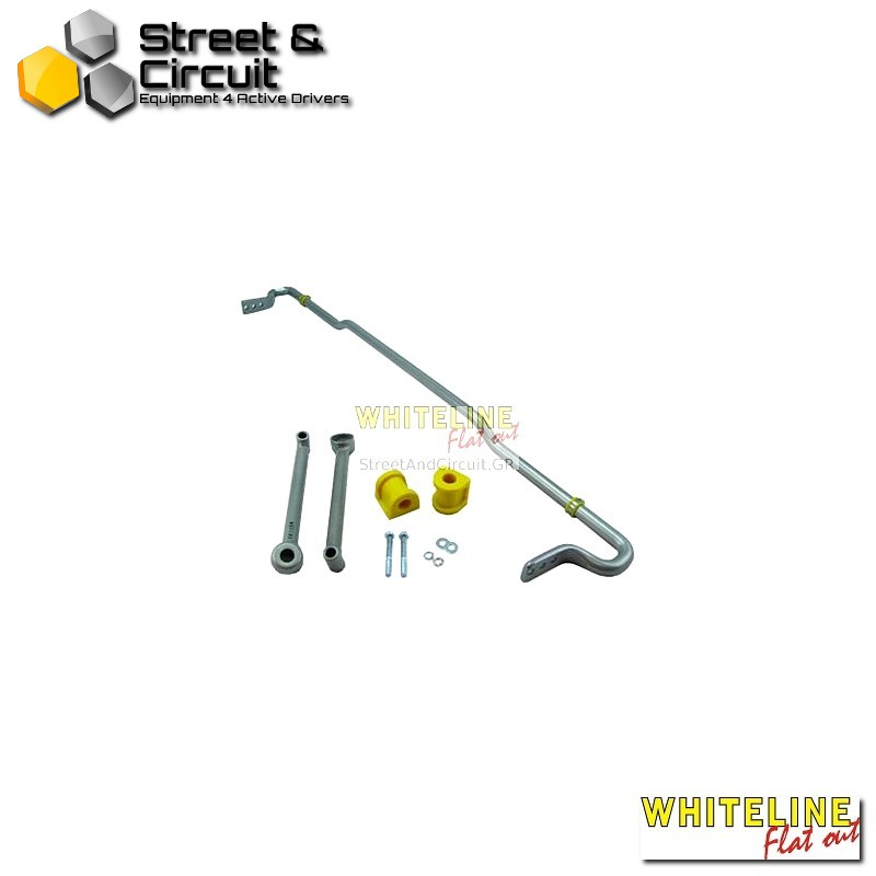 Subaru Forester SH MY08-09 08-On inc turbo - Whiteline Swaybar 24mm-X heavy duty Blade adjustab, *Rear - Ζαμφόρ/Anti-Roll Bar