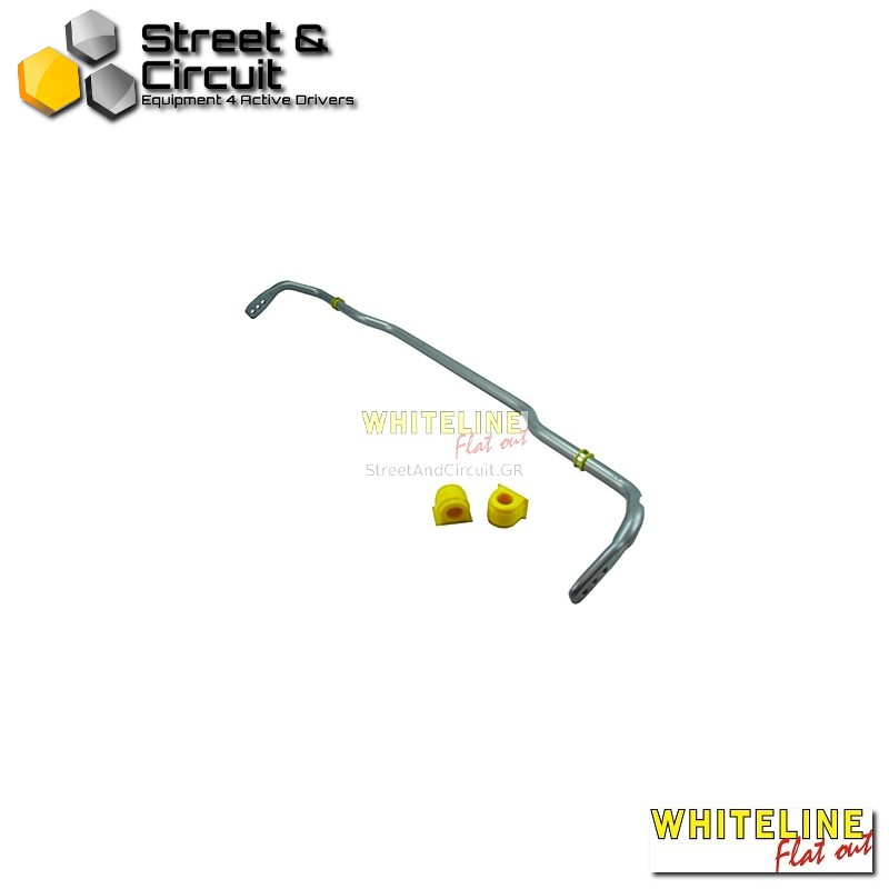 VW Golf Mk5 04-On fwd inc GTI excl R32 awd - Whiteline Swaybar 24mm-X h/duty Blade adjustable, *Rear - Ζαμφόρ/Anti-Roll Bar