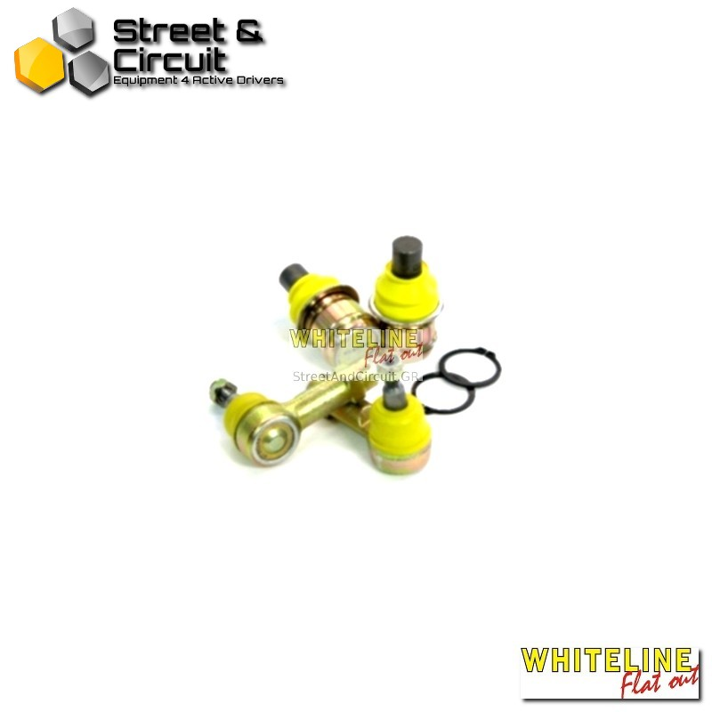 Mitsubishi LancerEVO-VII-VIII-IX 01-07 turbo sedan awd - Whiteline Roll centre adjust kit, *Front – Σινεμπλόκ/Bushes