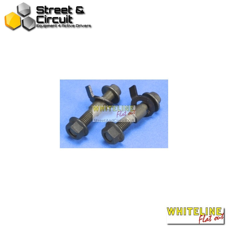 Mazda RX7 Series 4 86-89 - Whiteline Camber adj bolt kit-12mm, *Front - Σινεμπλόκ/Bushes