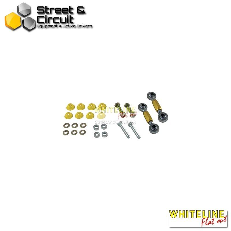 VW Golf Mk5 04-On fwd inc GTI excl R32 awd - Whiteline Swaybar link kit-spherical rod end, *Rear - Ζαμφόρ/Anti-Roll Bar
