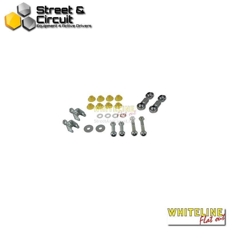 Mazda 3 BK 05-09 fwd - Whiteline Swaybar link kit-spherical rod end, *Rear - Ζαμφόρ/Anti-Roll Bar